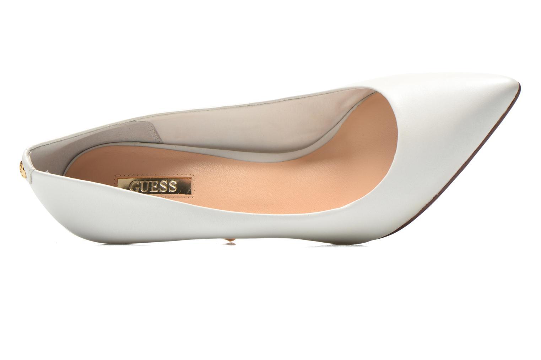 Zapatos de tacón Guess Plasma6 Blanco vista lateral izquierda