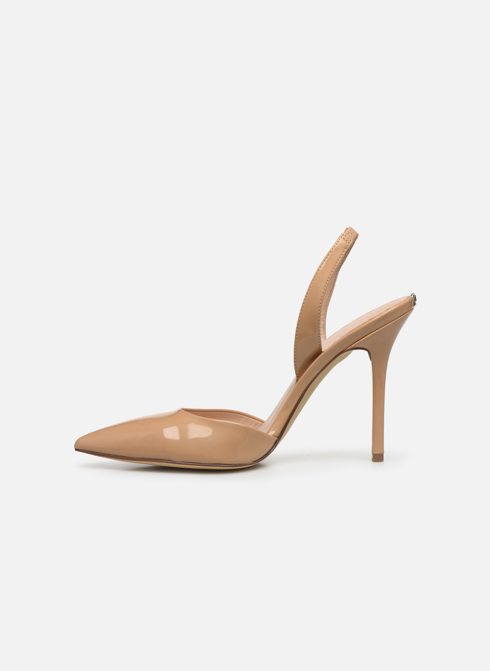 High heels Guess Pascal4 Beige front view