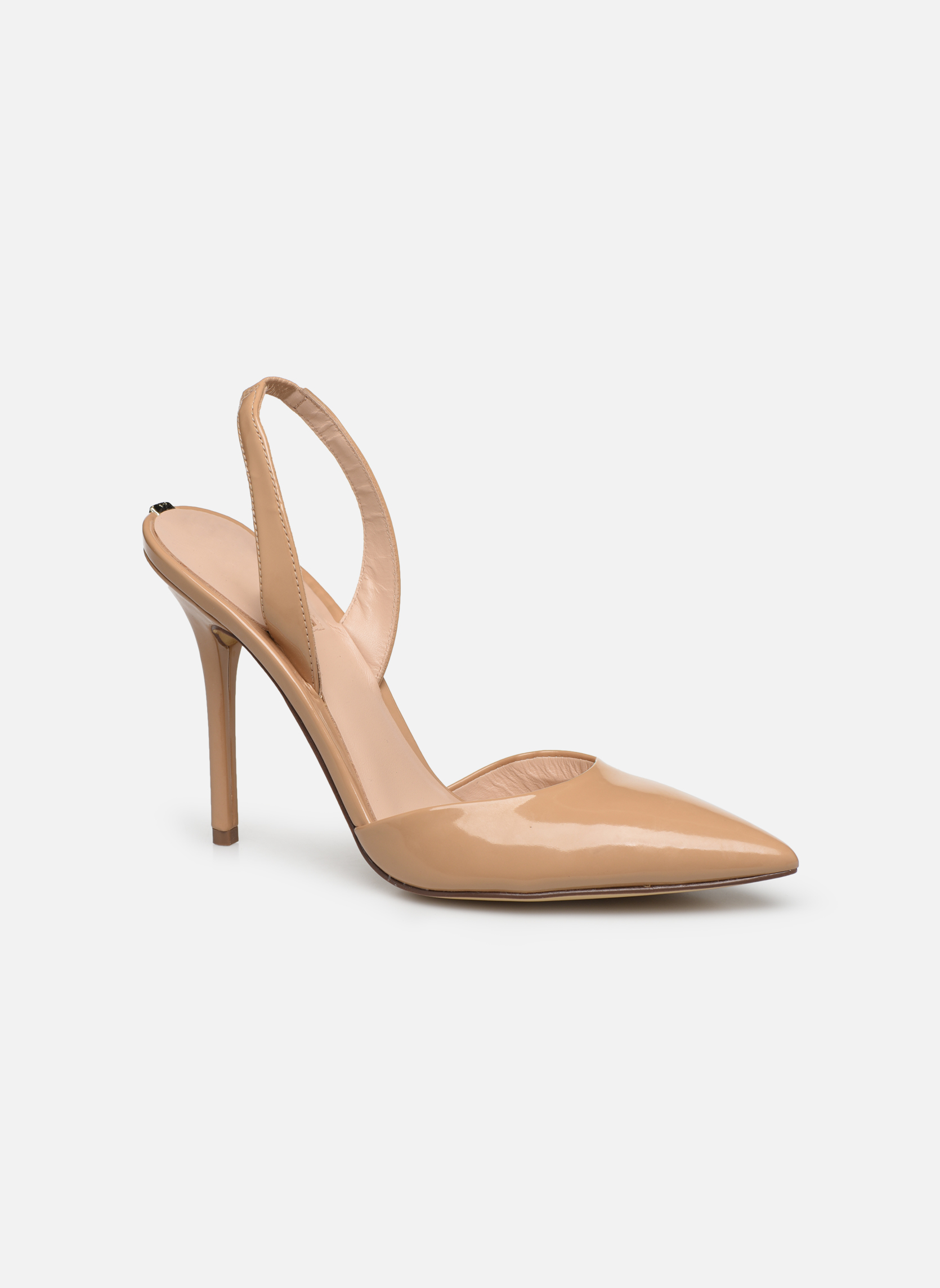 High heels Guess Pascal4 Beige detailed view/ Pair view