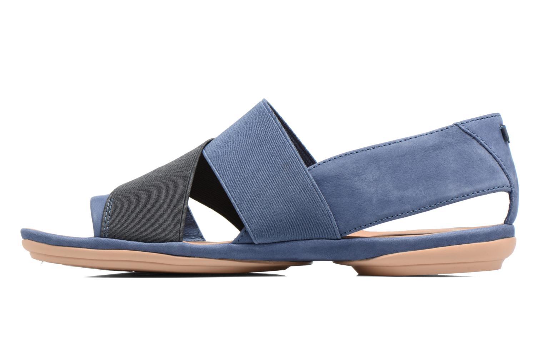 Sandales et nu-pieds Camper Right Nina K200142 Bleu vue face