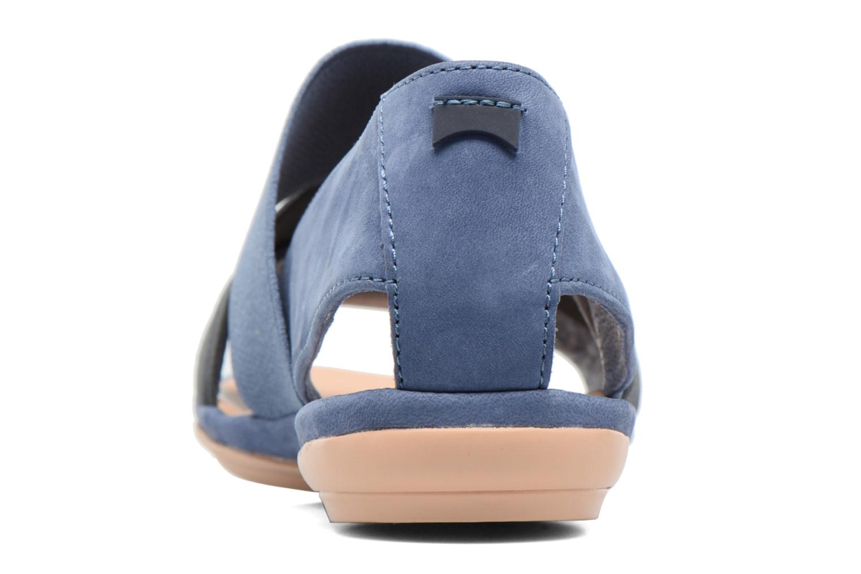 Sandalen Camper Right Nina K200142 blau ansicht von rechts