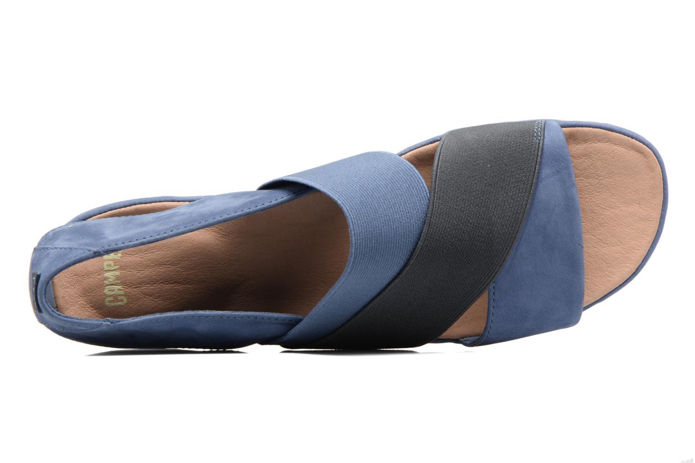 Sandales et nu-pieds Camper Right Nina K200142 Bleu vue gauche
