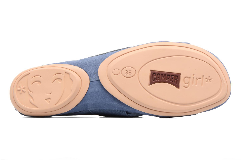Sandales et nu-pieds Camper Right Nina K200142 Bleu vue haut