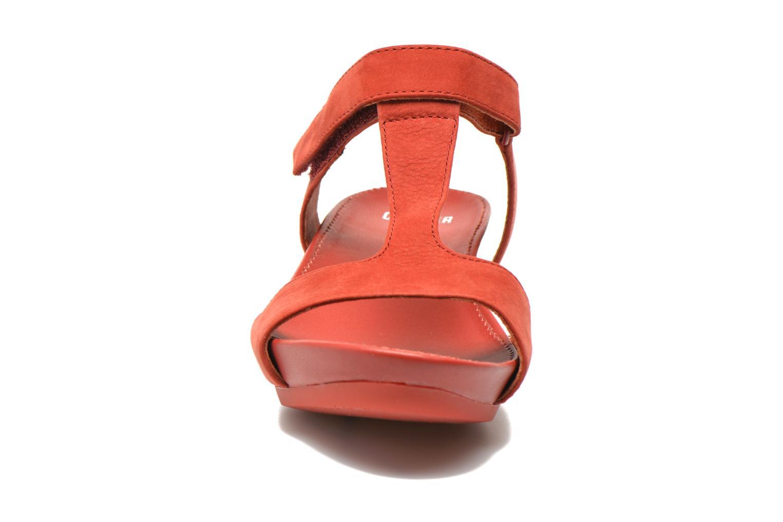 Sandalen Camper Micro K200117 rot schuhe getragen