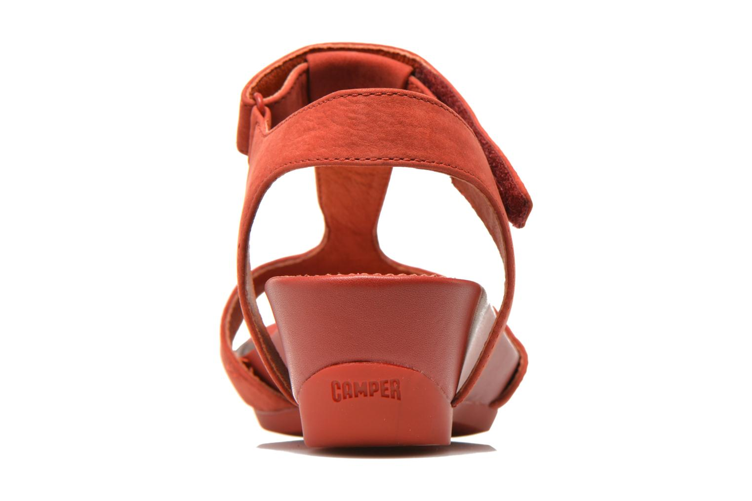 Sandals Camper Micro K200117 Red view from the right