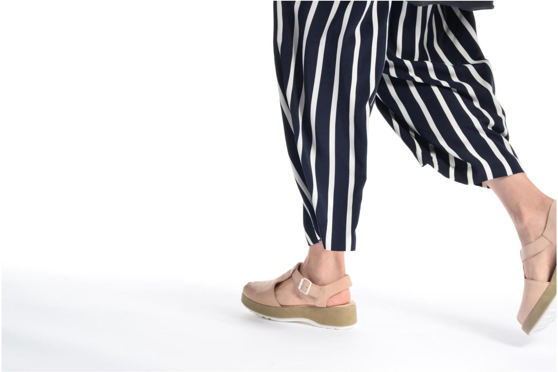 Sandales et nu-pieds Camper Dessa K200083 Beige vue bas / vue portée sac
