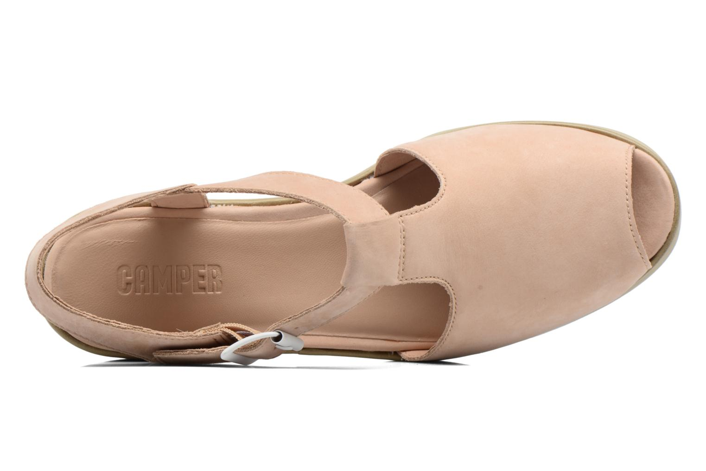 Sandales et nu-pieds Camper Dessa K200083 Beige vue gauche