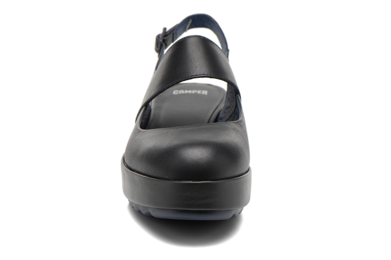 Ballerinas Camper Dessa K200198 blau schuhe getragen