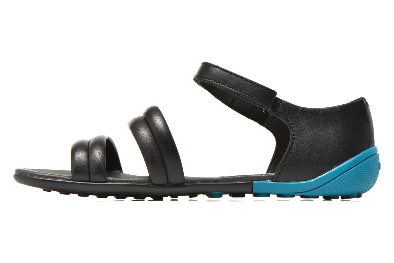 Sandalen Camper Peuu K200173 schwarz ansicht von vorne