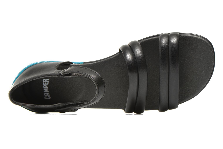 Sandalen Camper Peuu K200173 schwarz ansicht von links