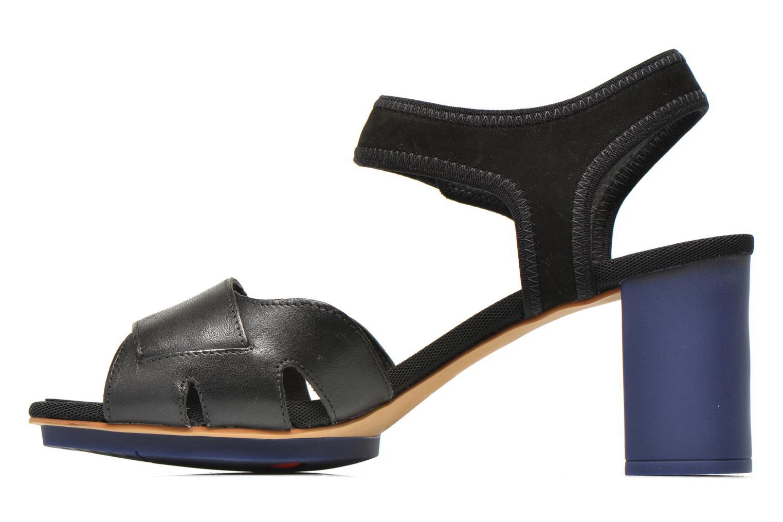 Sandales et nu-pieds Camper Myriam 22534 Noir vue face