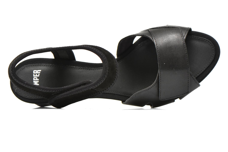 Sandales et nu-pieds Camper Myriam 22534 Noir vue gauche