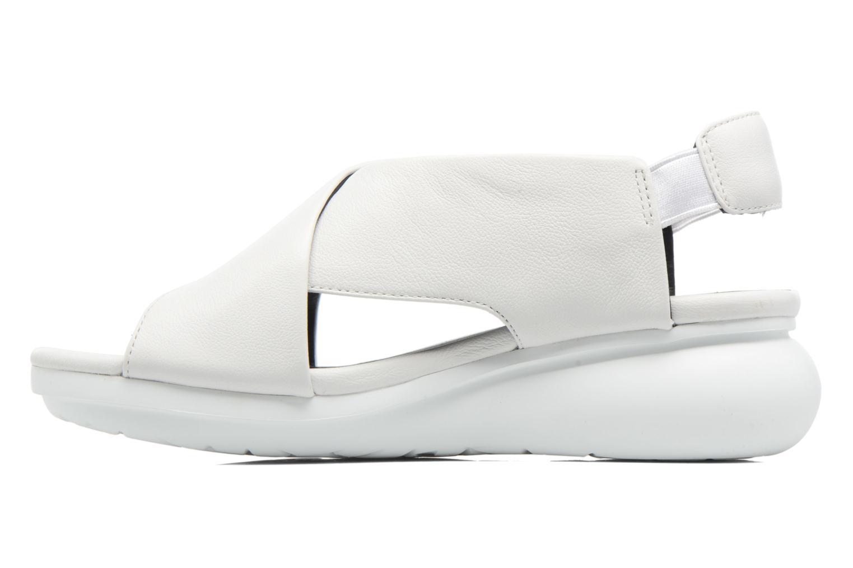Sandales et nu-pieds Camper Balloon K200066 Blanc vue face