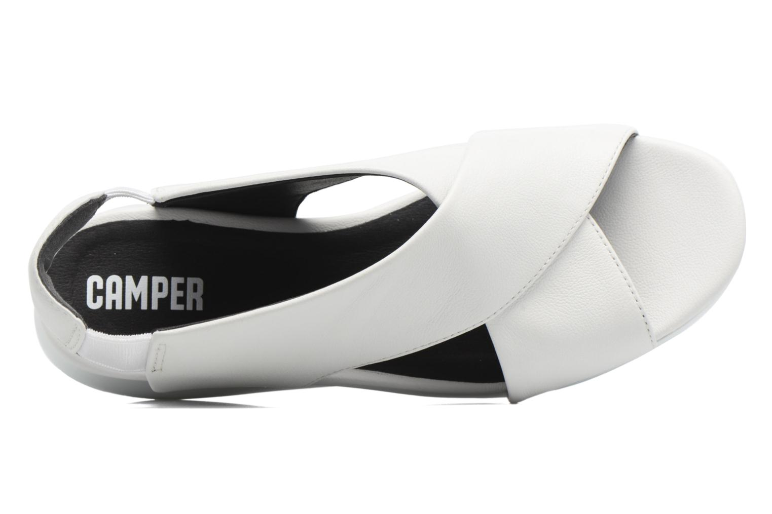 Sandals Camper Balloon K200066 White view from the left
