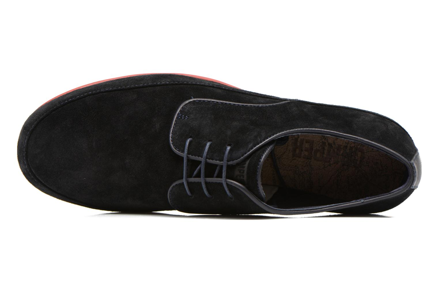 Lace-up shoes Camper Slippers Sun K100067 Blue view from the left