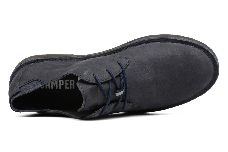 Chaussures à lacets Camper Morrys K100057 Bleu vue gauche