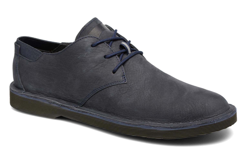 Chaussures à lacets Camper Morrys K100057 Bleu vue détail/paire