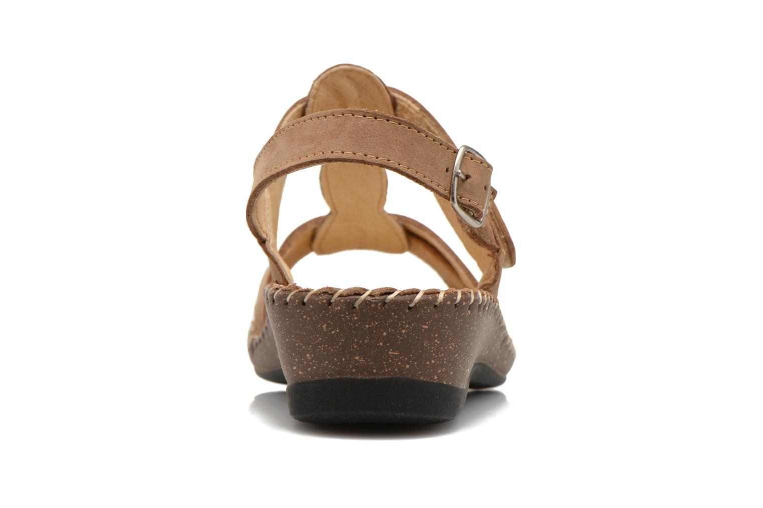 Sandals Arima pour Elle Paliz Beige view from the right