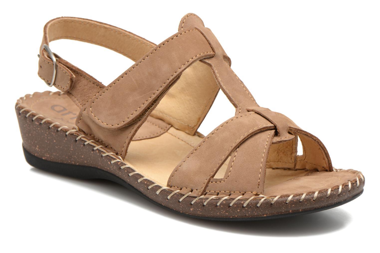 Sandaler Arima pour Elle Paliz Beige detaljeret billede af skoene