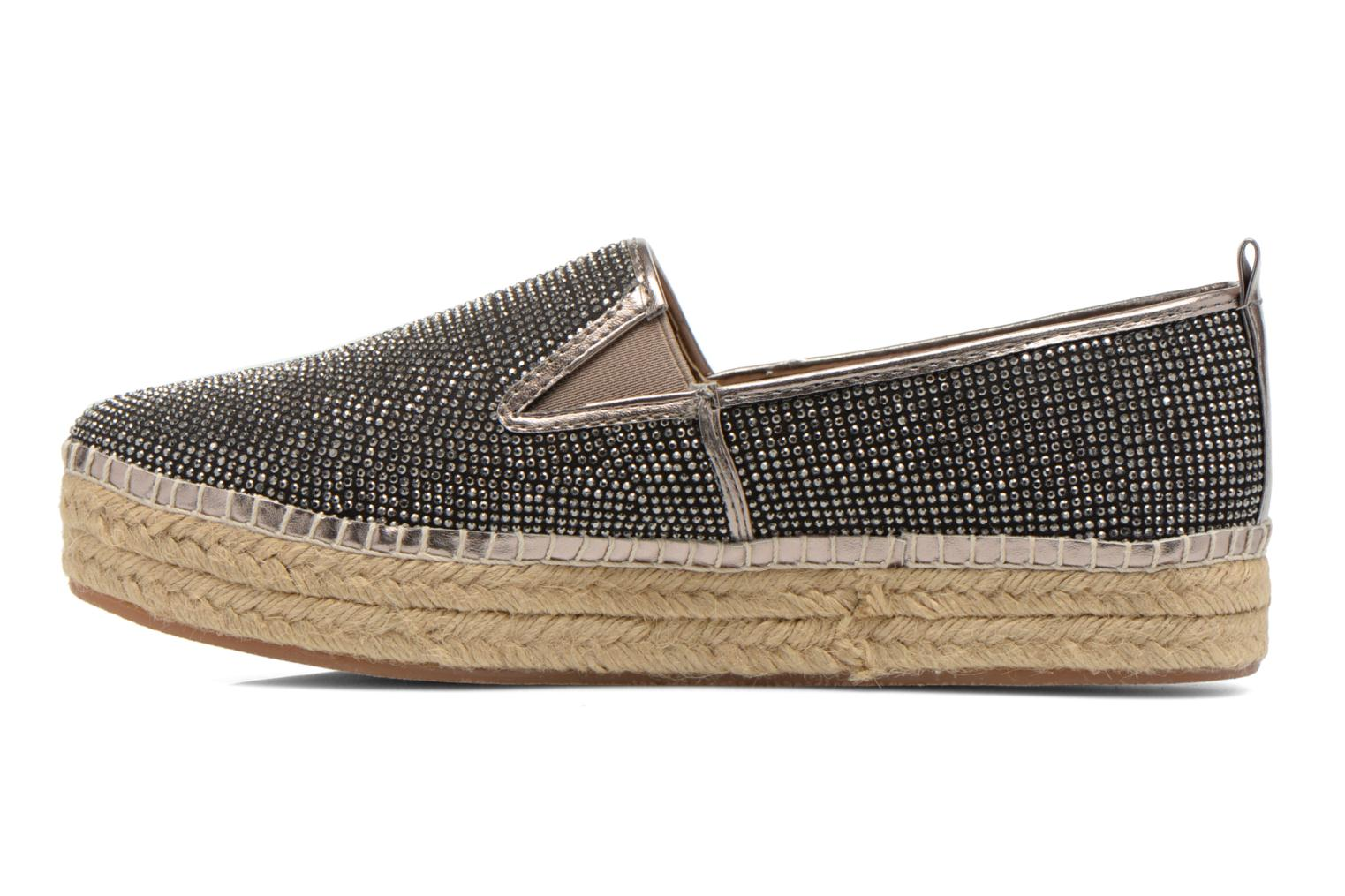 Espadrilles Steve Madden CHOPUR-R Bronze and Gold front view