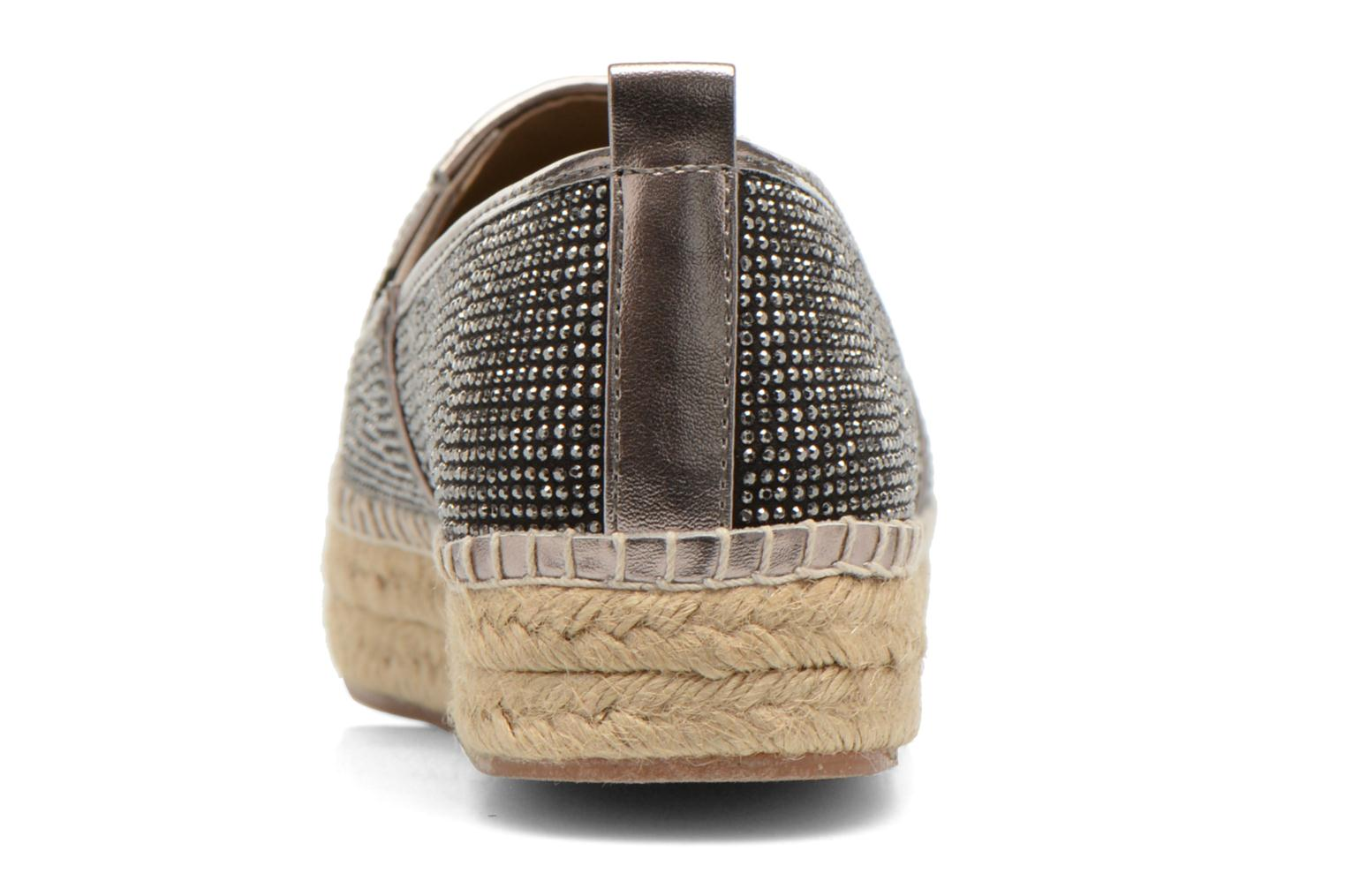 Espadrilles Steve Madden CHOPUR-R Bronze and Gold view from the right