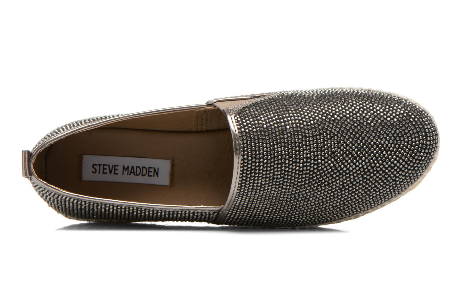 Espadrilles Steve Madden CHOPUR-R Bronze and Gold view from the left