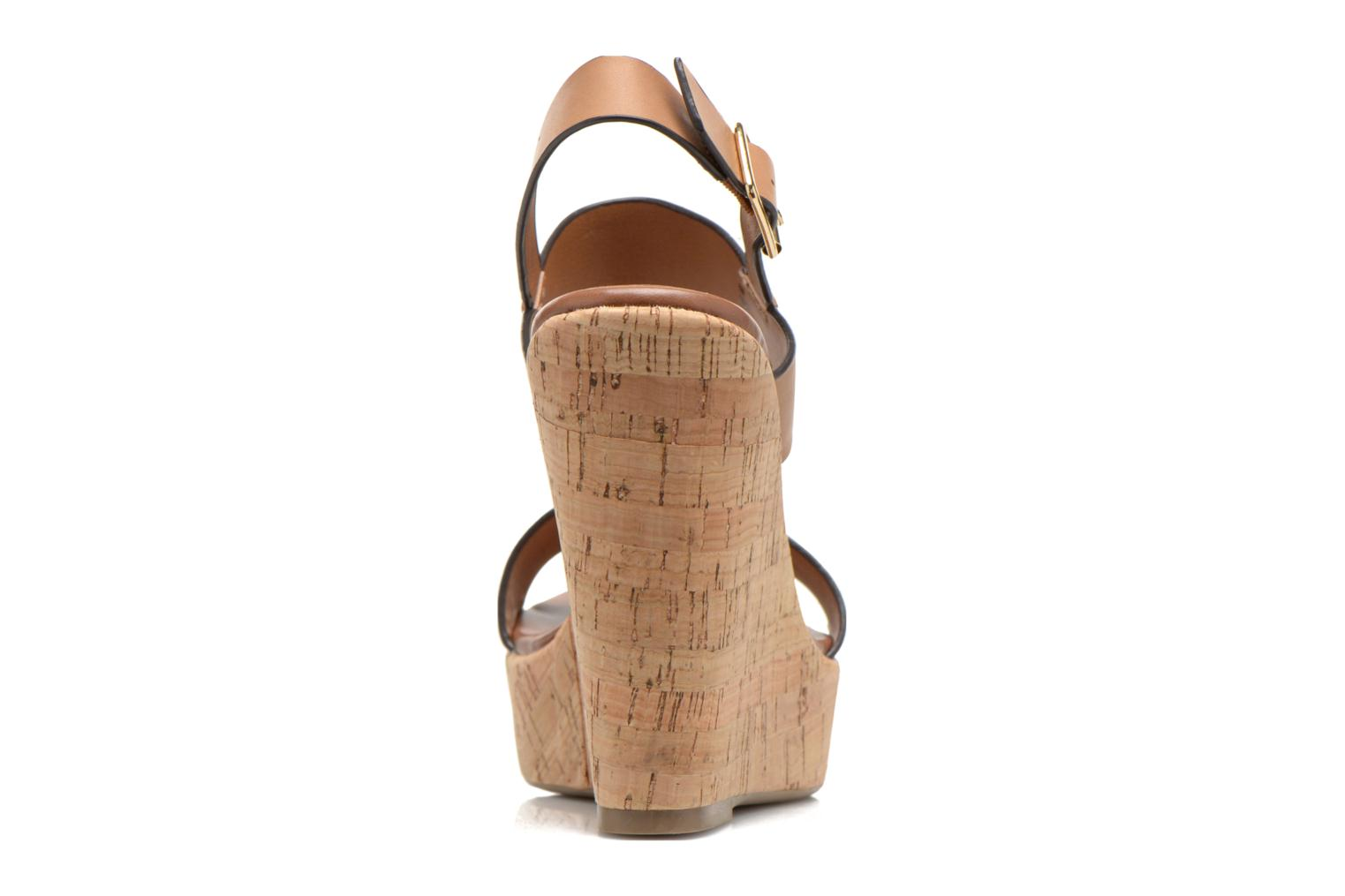 Sandals Steve Madden ESME Brown view from the right