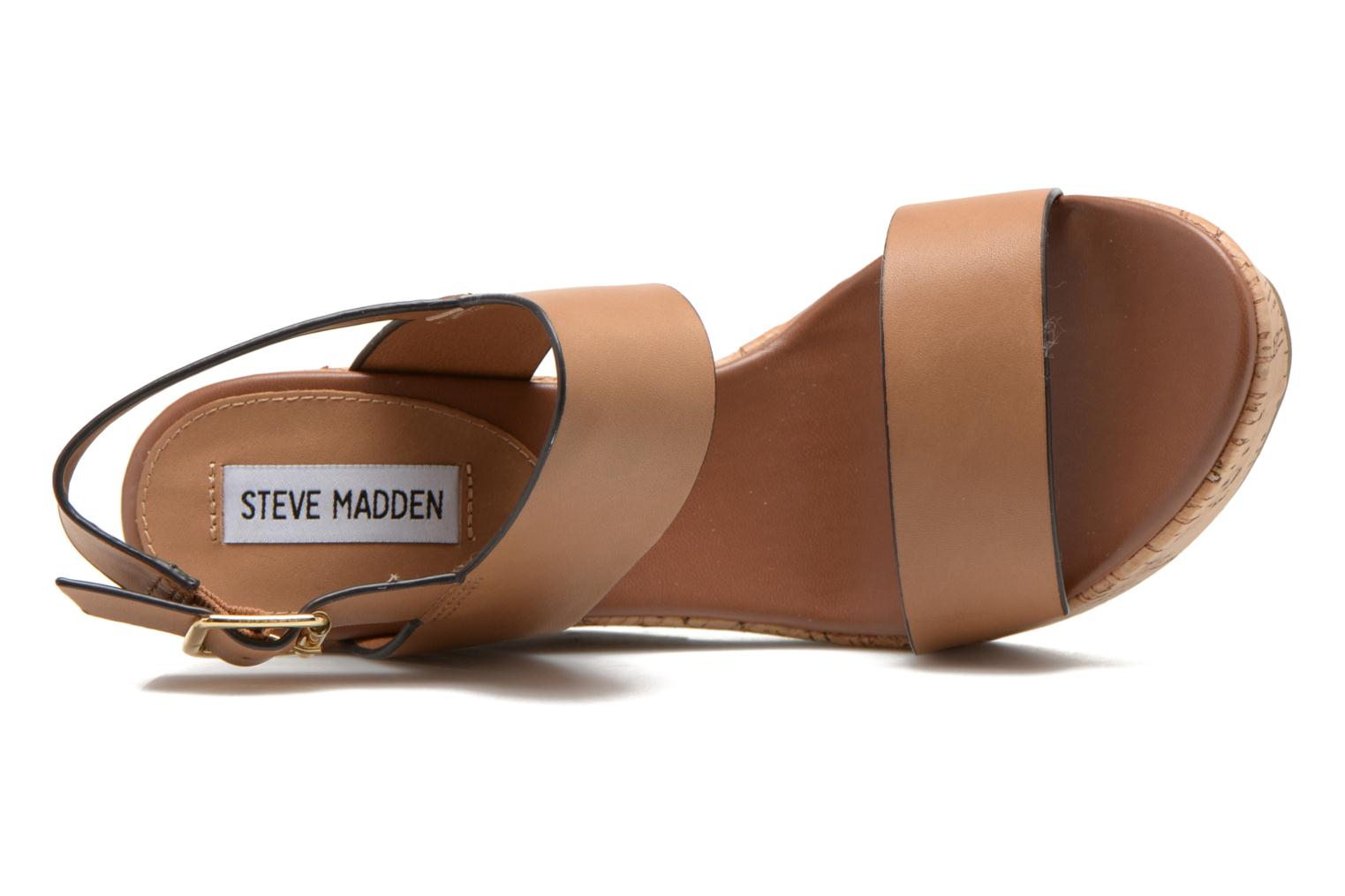 Sandals Steve Madden ESME Brown view from the left