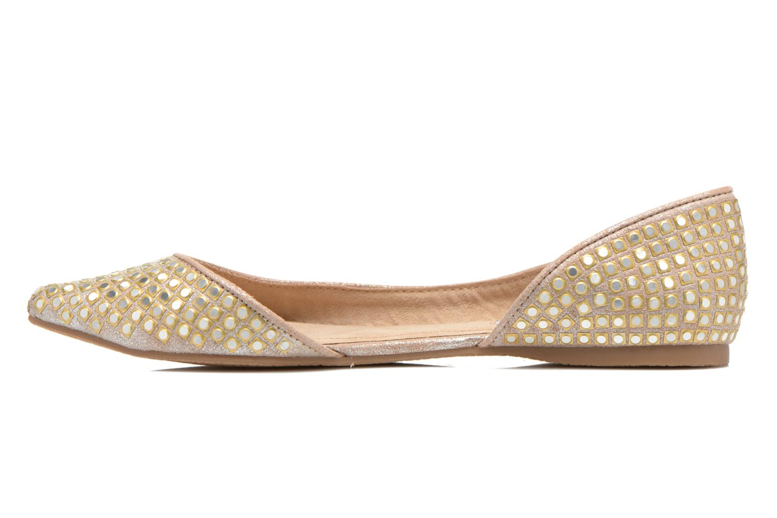 Ballet pumps Steve Madden ELIGANT Bronze and Gold front view