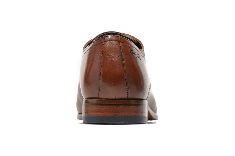 Zapatos con cordones Bugatti Benato LC Marrón vista lateral derecha