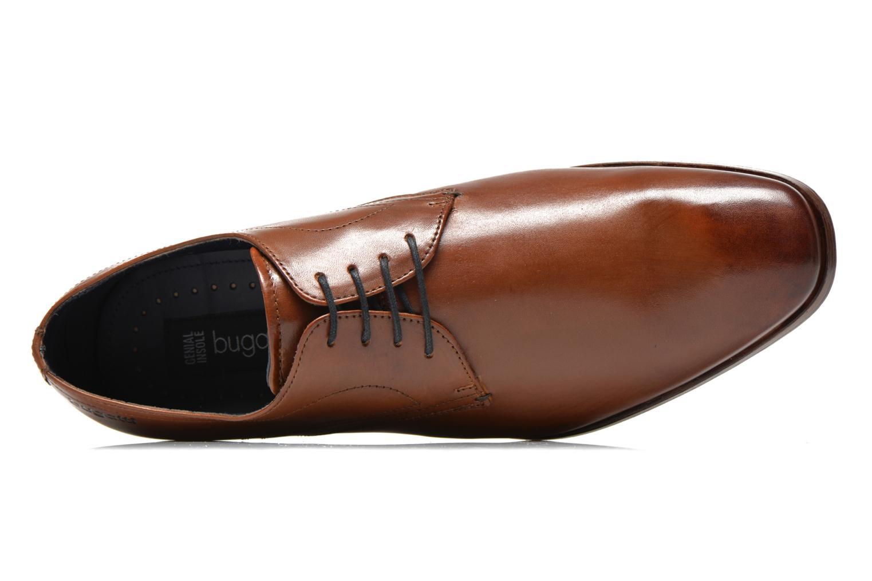 Zapatos con cordones Bugatti Benato LC Marrón vista lateral izquierda