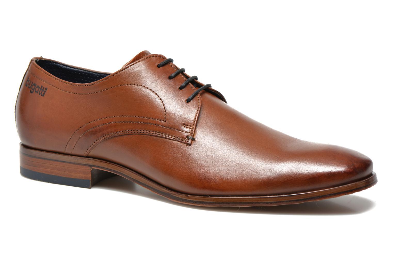 Chaussures à lacets Bugatti Benato LC Marron vue détail/paire