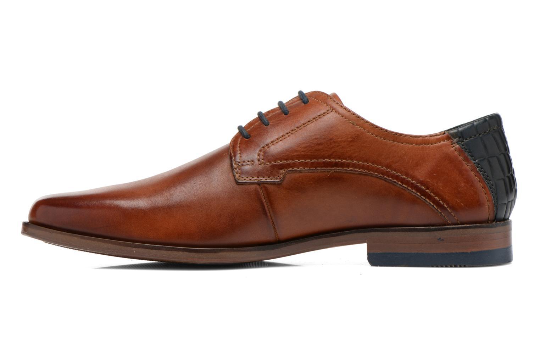 Zapatos con cordones Bugatti Villano 311-15601 Marrón vista de frente