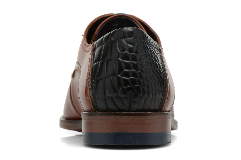 Zapatos con cordones Bugatti Villano 311-15601 Marrón vista lateral derecha