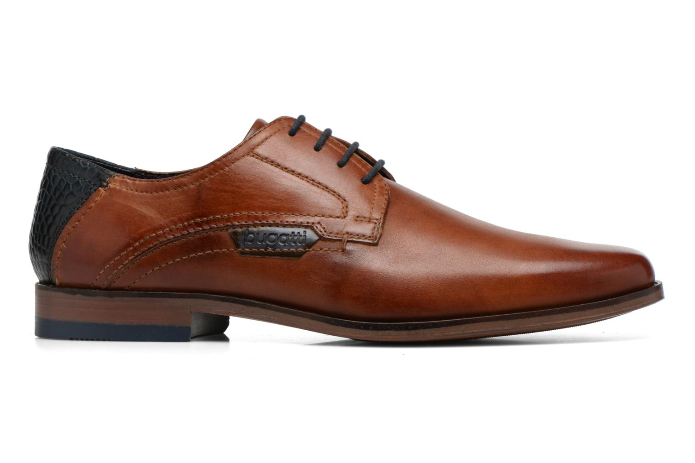 Zapatos con cordones Bugatti Villano 311-15601 Marrón vistra trasera