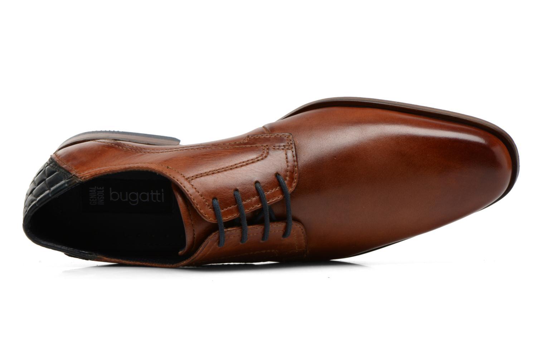 Zapatos con cordones Bugatti Villano 311-15601 Marrón vista lateral izquierda