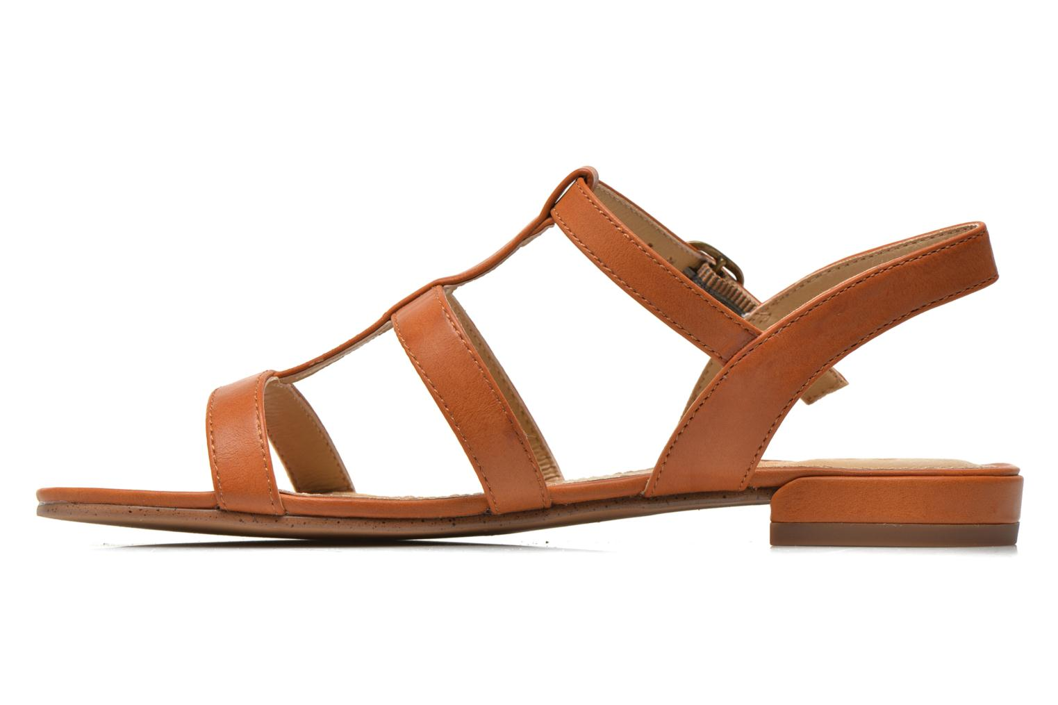 Aely Sandal Rust Brown