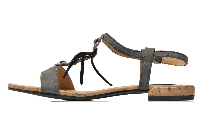 Sandales et nu-pieds Esprit Aely Ter Sandal Noir vue face