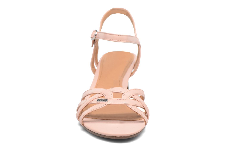 Sandales et nu-pieds Esprit Birkin Sandal Rose vue portées chaussures