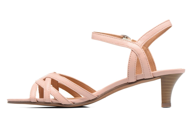 Sandales et nu-pieds Esprit Birkin Sandal Rose vue face