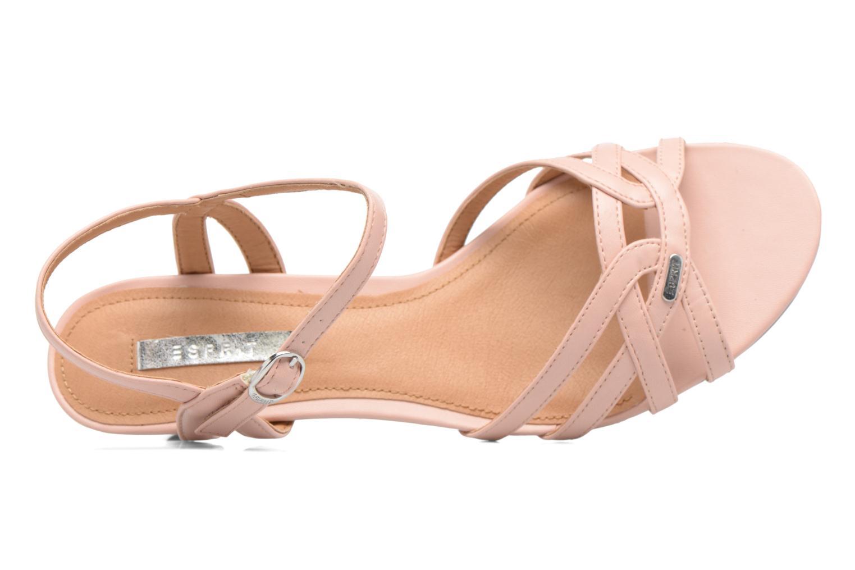 Sandales et nu-pieds Esprit Birkin Sandal Rose vue gauche
