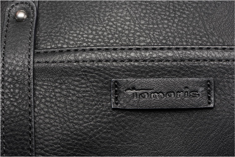 Handtaschen Tamaris René - Bowling bag schwarz ansicht von links