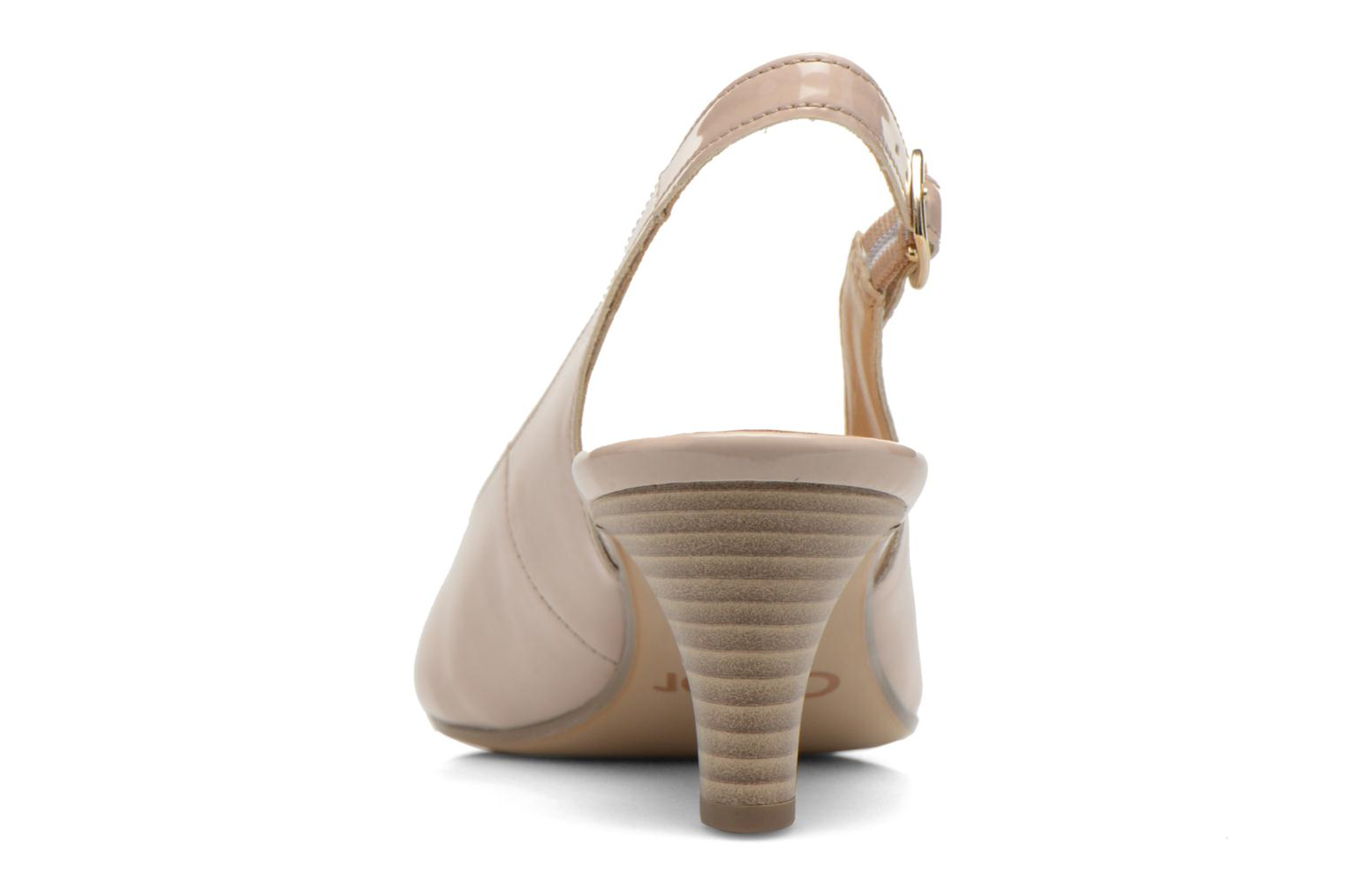 High heels Gabor Liro Beige view from the right