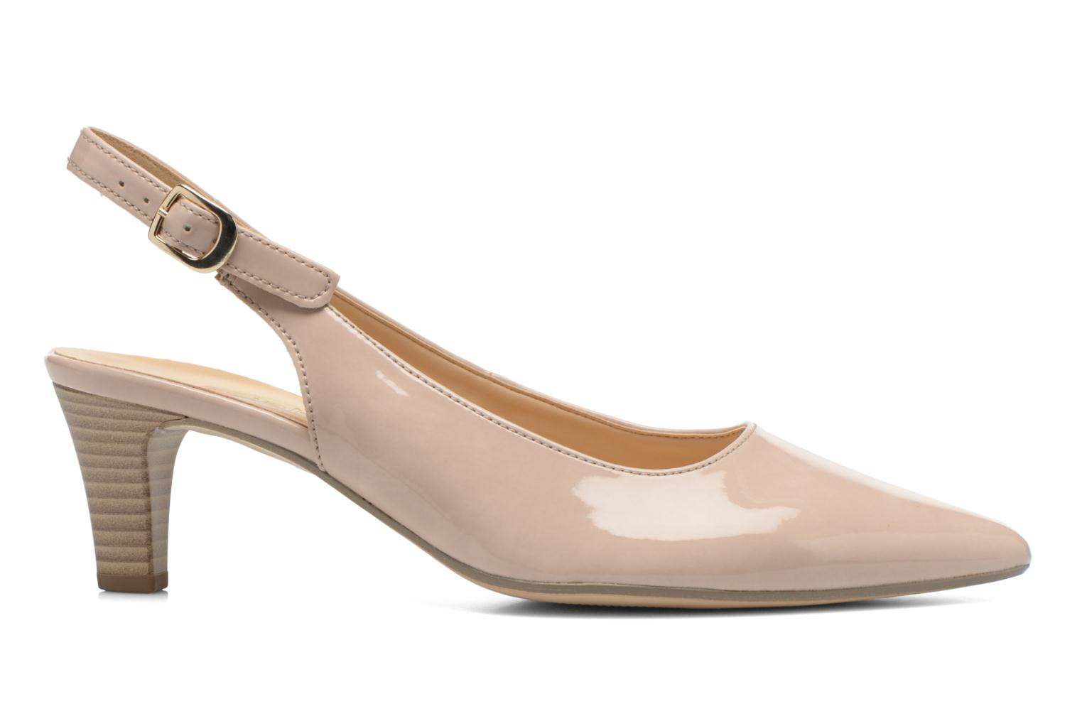 High heels Gabor Liro Beige back view