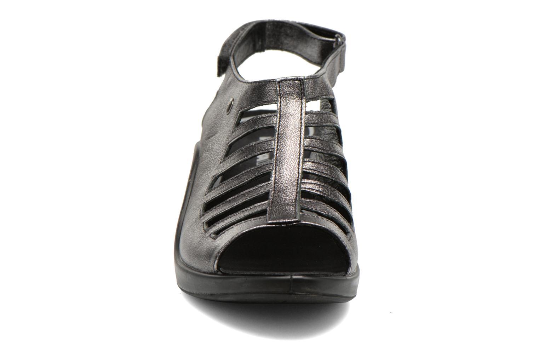 Sandales et nu-pieds Romika Mokassetta 287 Gris vue portées chaussures