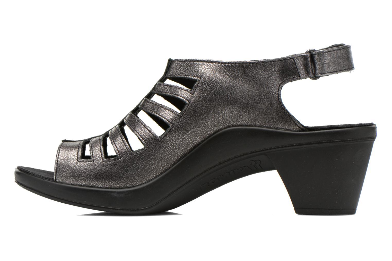 Sandales et nu-pieds Romika Mokassetta 287 Gris vue face