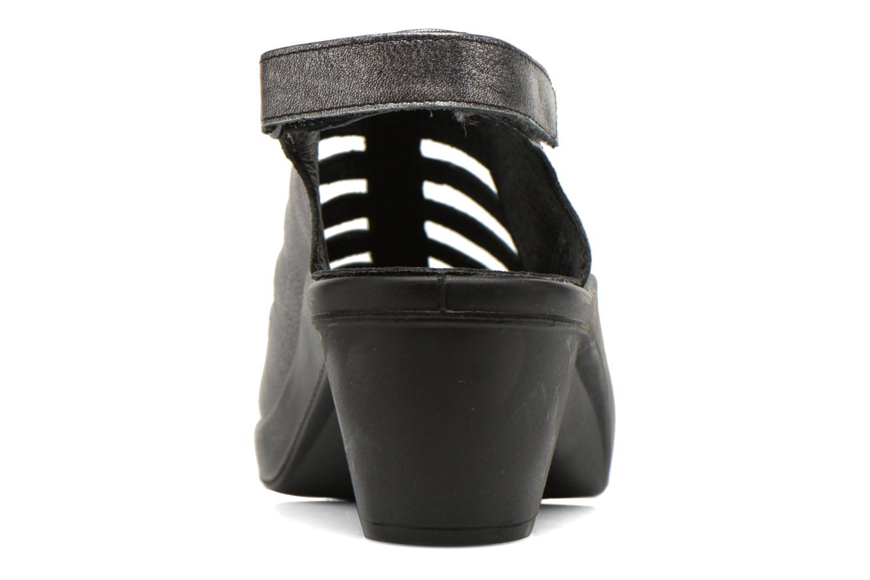 Sandales et nu-pieds Romika Mokassetta 287 Gris vue droite