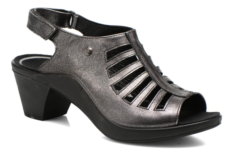 Sandales et nu-pieds Romika Mokassetta 287 Gris vue détail/paire