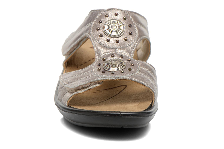 Mules et sabots Romika Sylt 01 Argent vue portées chaussures