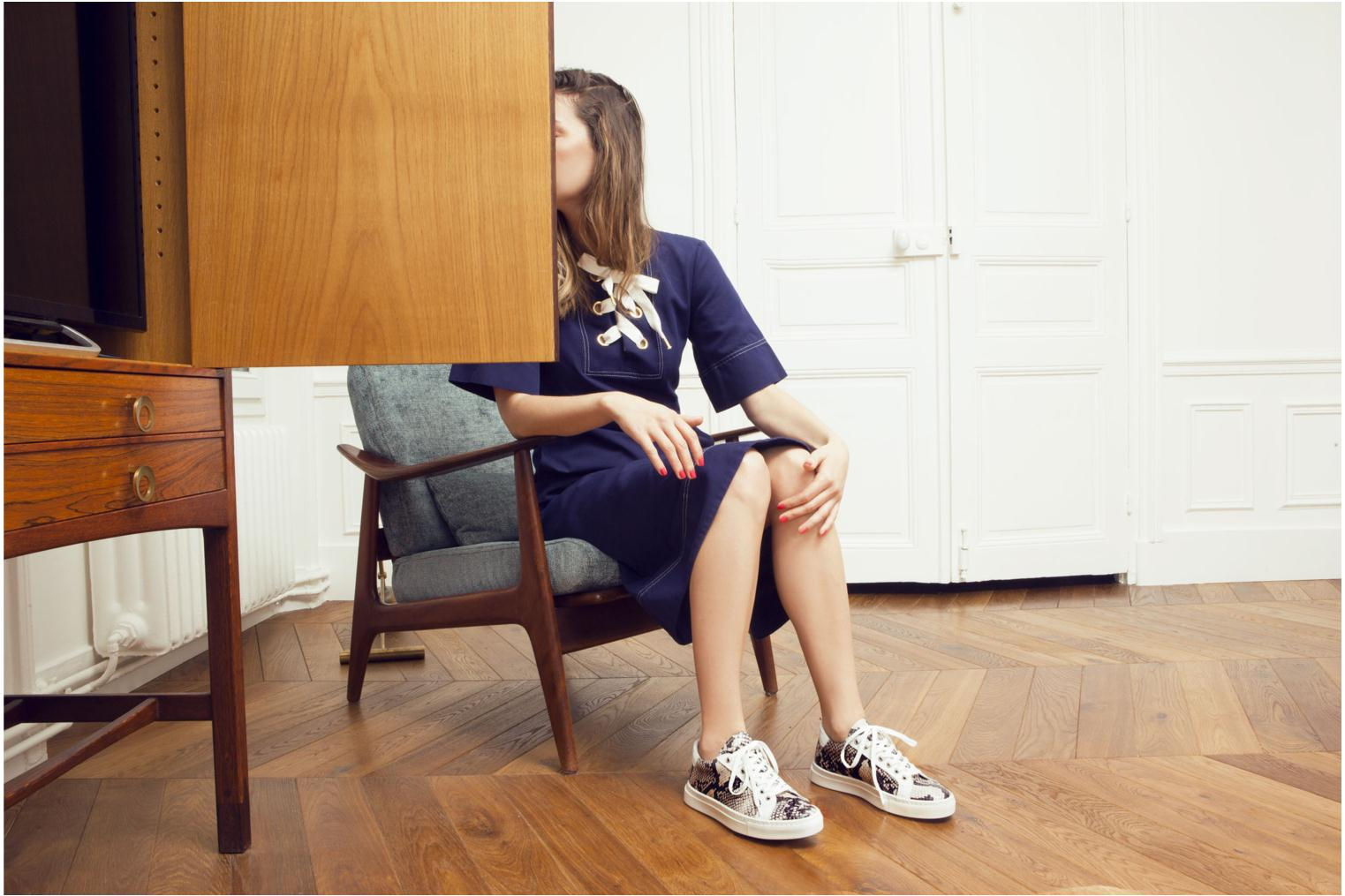 Sneakers Made by SARENZA Seven Tease #2 Beige immagine 3/4